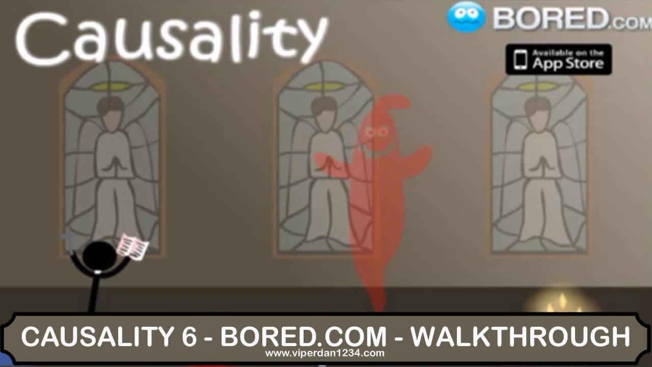 causality 6 boredcom full walkthrough youtube - Causality Halloween Walkthrough