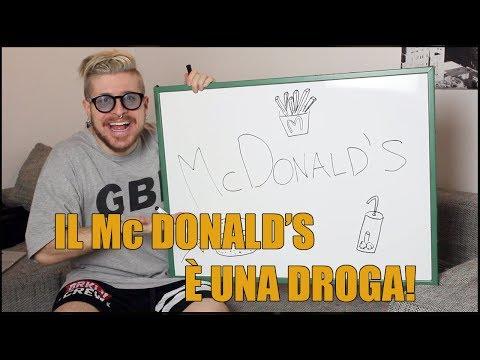 IL MC DONALD'S È UNA DROGA PERICOLOSA!
