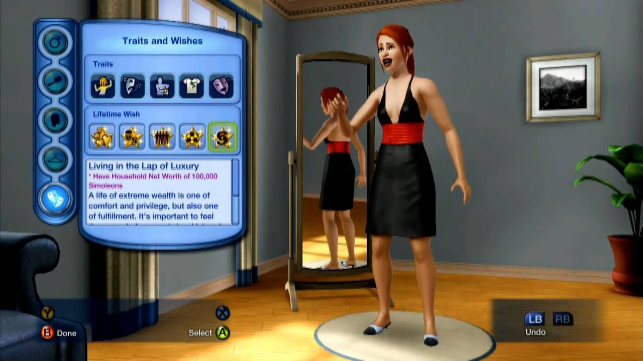 Sims 3 for xbox360 the first 15 minutes 720p hd gameplay for Construire une maison sims 3 xbox 360