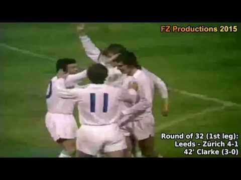 1974-1975 European Cup: Leeds United AFC Goals (Road to the Final)