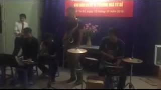 Bài ca không quên - Saxophone, guitar, keyboard, drum