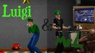 Wie erstellen Luigi & Mr. L in Sims 3