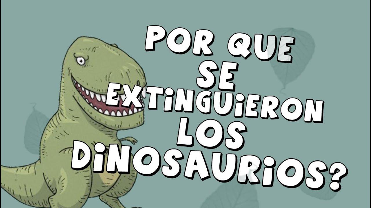 Por que se extinguieron los dinosaurios youtube for Como se cocinan los percebes
