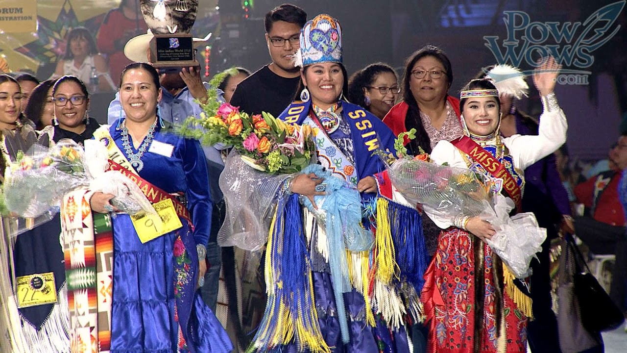 Crowning of Miss Indian World  2018 Gathering of Nations