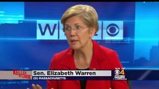 CBS Boston: Warren In Interview Stiff Arms Hillary Clinton