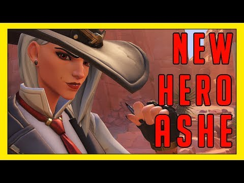 Seagull Plays NEW Hero: Ashe - Overwatch