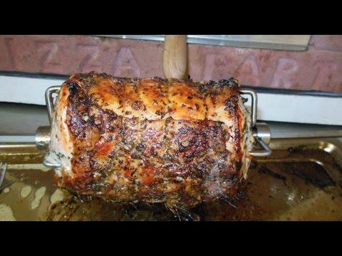 Il girarrosto elettrico per fare arrosti nel tuo forno a for Sportello per forno a legna