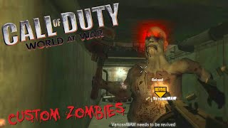 Custom Zombies Fun - Big Baby, Easter Egg, Dramatic End (Call of Duty WaW Funny Moments)
