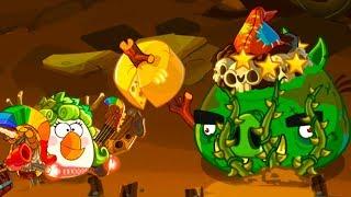 Энгри Бердс ЭПИК #86 ЗЛЫЕ ПТИЧКИ игровой Мультик развлекательное видео для детей Bad Piggies #КИД