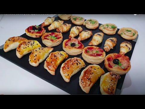 4-feuilletés-salés-pour-apéritifs-ou-buffet-dînatoire-/-ممللحات-بالعربية