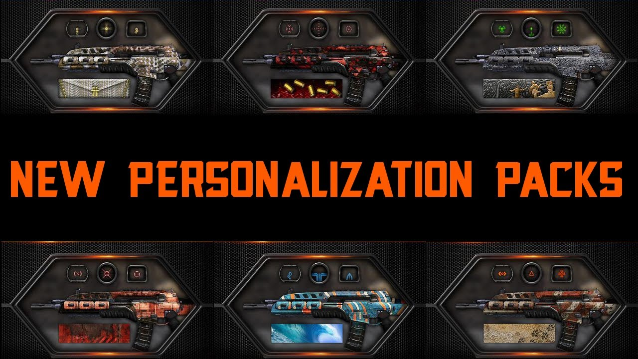 personalization packs black ops 2
