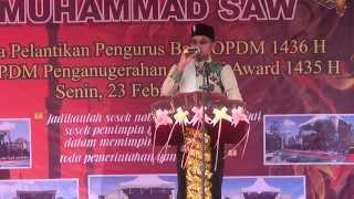 ceramah maulid darul ulum oleh tgk zulfadhli juara 3 aksi indosiar 1
