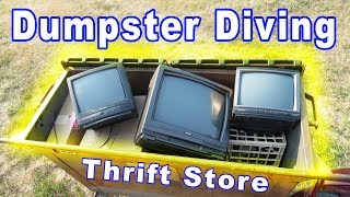 Dumpster Diving at Thrift Store #62