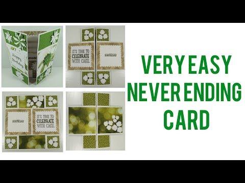 Easy Never Ending Card | Video Tutorial