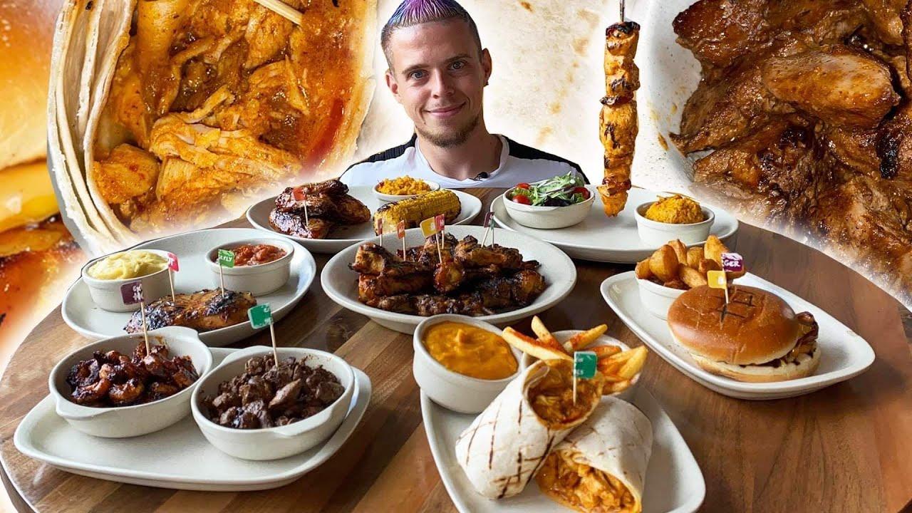 CARNAGE de POULETS PÉRI-PÉRI !! Poulet entier, Brochettes, Wings, Burger, Wrap, ... !
