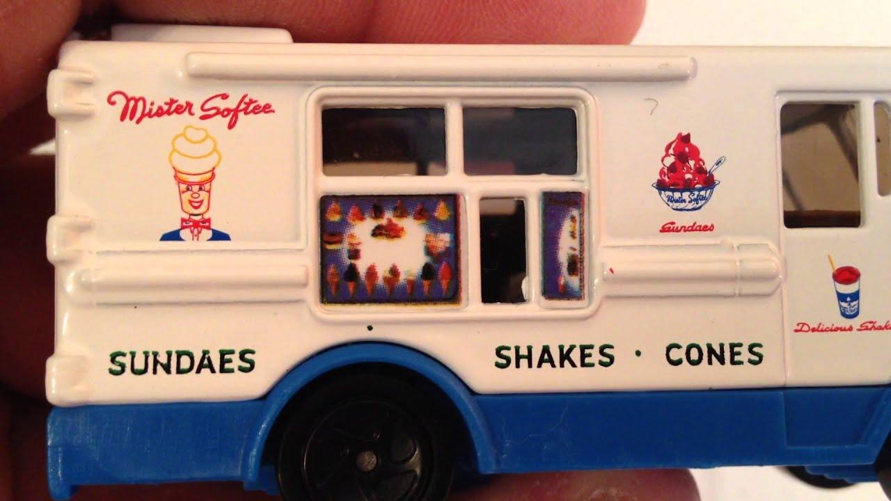 Mr Softee Rare Matchbox Ice Cream Truck