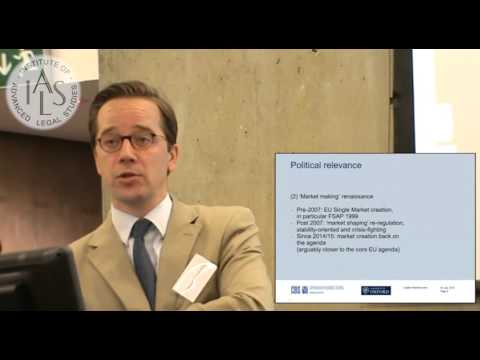 EU Capital Markets Union: Contents and Discontents - Georg Ringe