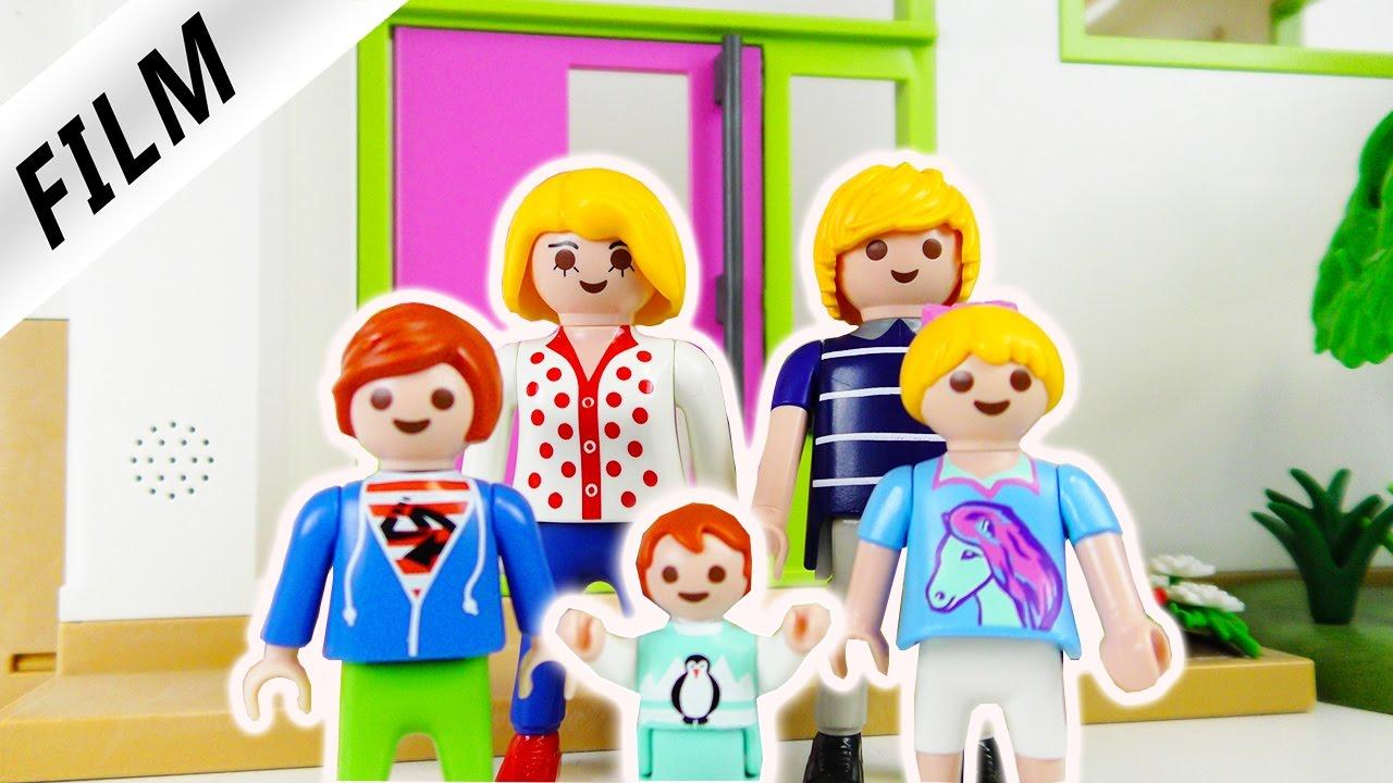 Playmobil Film Deutsch - UMZUG IN DIE LUXUSVILLA - Kinderserie ...