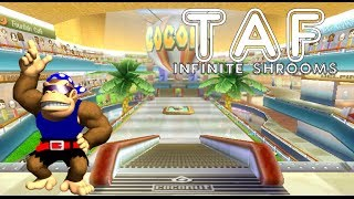 [MKWii - TAF] Coconut Mall Freerun (infinite shrooms)