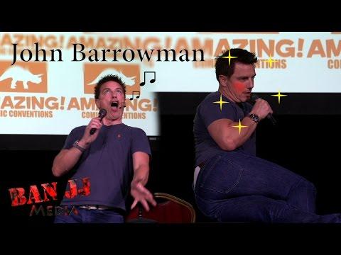 Comic Con Las Vegas 2015 | John Barrowman Talks Doctor Who, Suicide Squad, Arrow, and more!