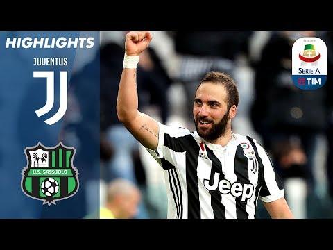 Juventus 7-0 Sassuolo | La Juve batte il Sassuolo | Serie A TIM 2017/18