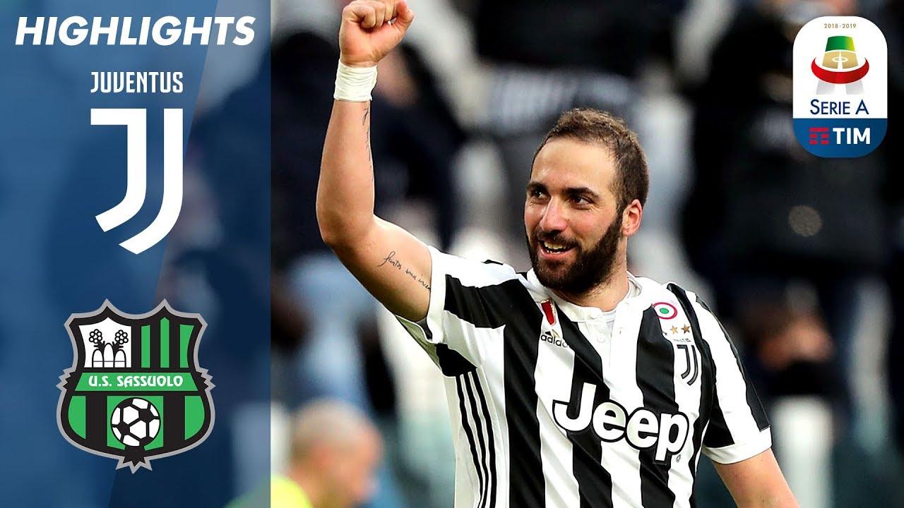 Juventus 7 0 Sassuolo La Juve Batte Il Sassuolo Serie