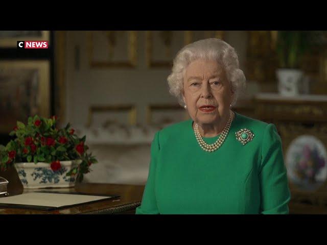 Elizabeth II \: « Si nous restons déterminés, nous serons en mesure de surmonter cette crise »