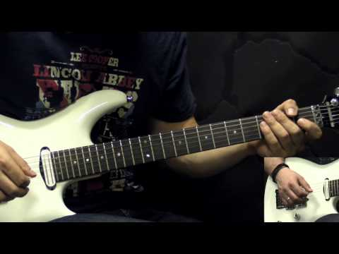 Slayer - Mandatory Suicide - Metal Guitar Lesson (with Tabs)
