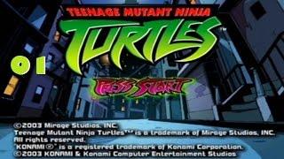 TMNT 2003 Gamecube Playthrough 01