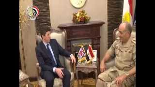 بالفيديو| حجازي يبحث مع نائب مستشار الأمن القومي البريطاني حرب الإرهاب