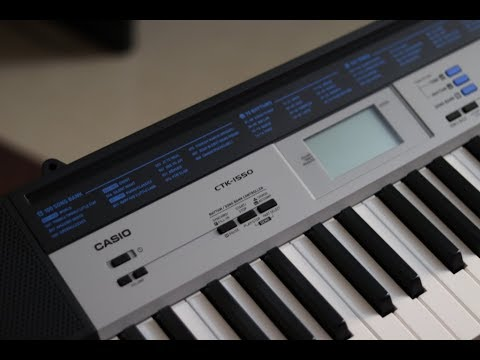 CASIO CTK 1550 UNBOXING AND PHYSICAL OVERVIEW