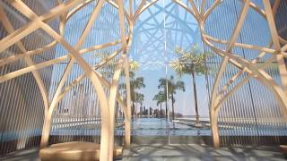 Viceroy hotel and residences resort on Palm Jumeirah Island