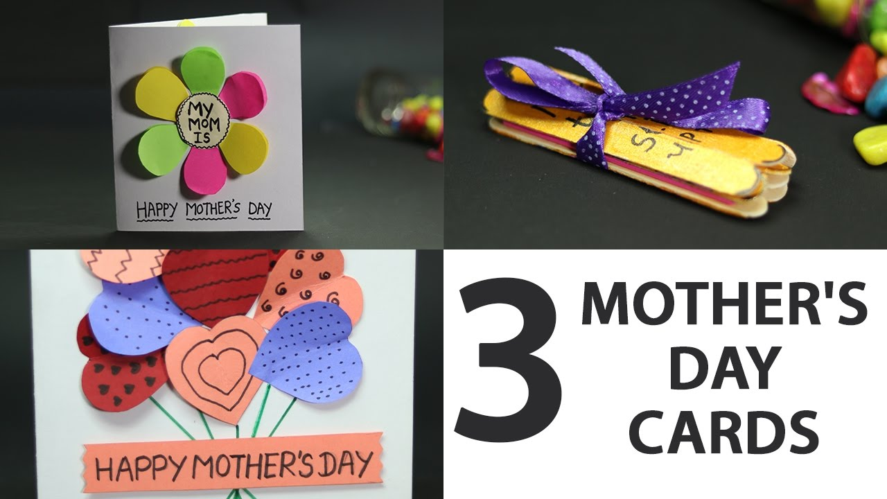 Easy cute mother 39 s day card gift ideas for kids from for What to get mom for mother s day diy