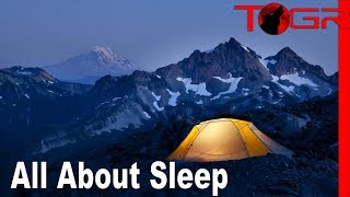 How to Get a G๐od Night's Sleep While Camping : Backpacking Basics