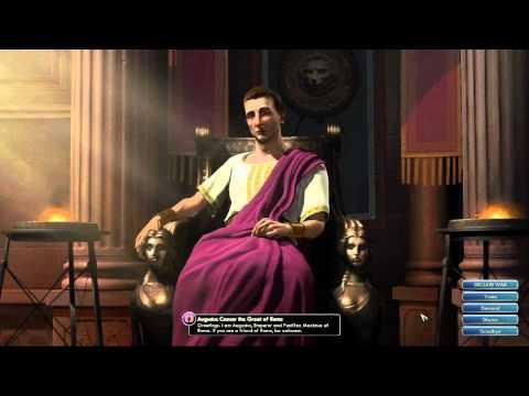 Civilization V OST | Augustus Caesar Peace Theme | Ancient Roman Melody Fragments
