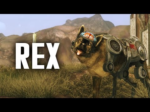 Rex The Cybernetic Dog - Fallout New Vegas Lore