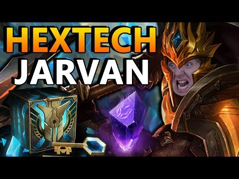 NEW Hextech Jarvan | How the F*** is THIS a gemstone skin?