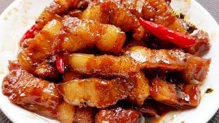 Cách làm món THỊT BA CHỈ KHO ngon như ngoài hàng và cách thắng nước màu kho cá thịt  !