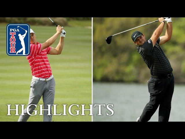 Jordan Spieth vs. Patrick Reed Highlights   Round 3   Dell Match Play