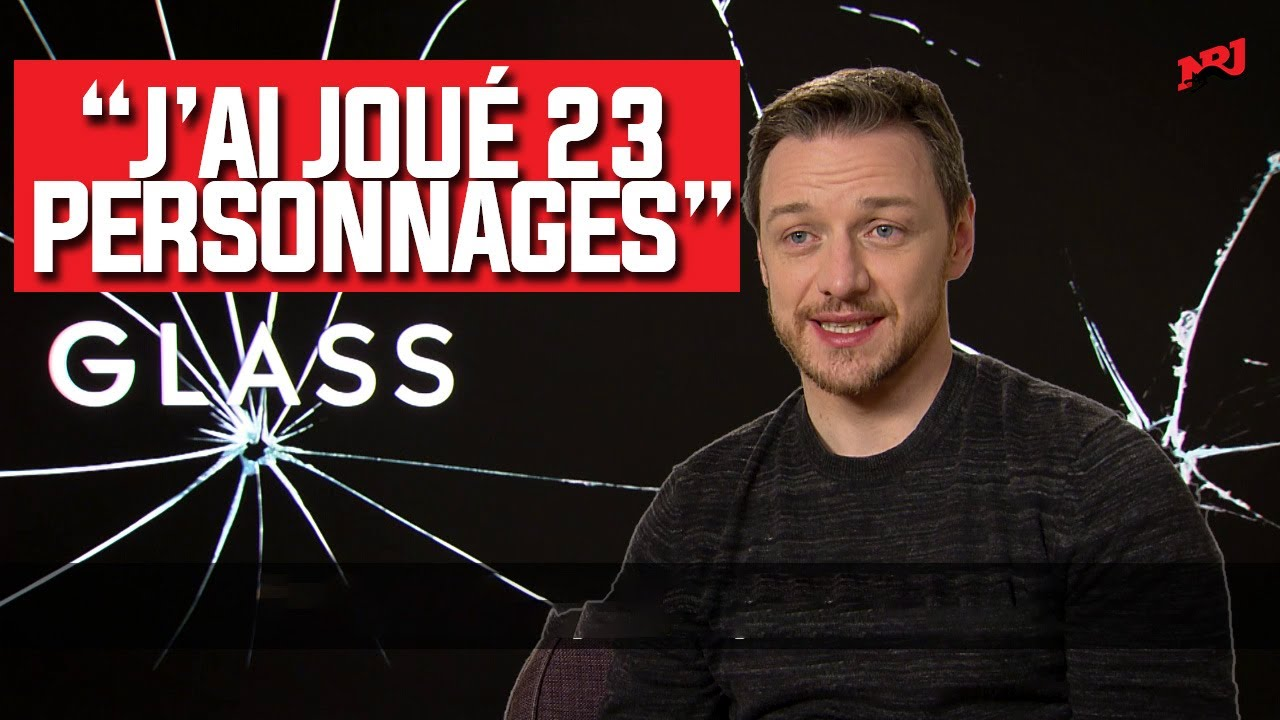 Interview exclusive de James McAvoy et Night Shyamalan pour Glass #NRJ
