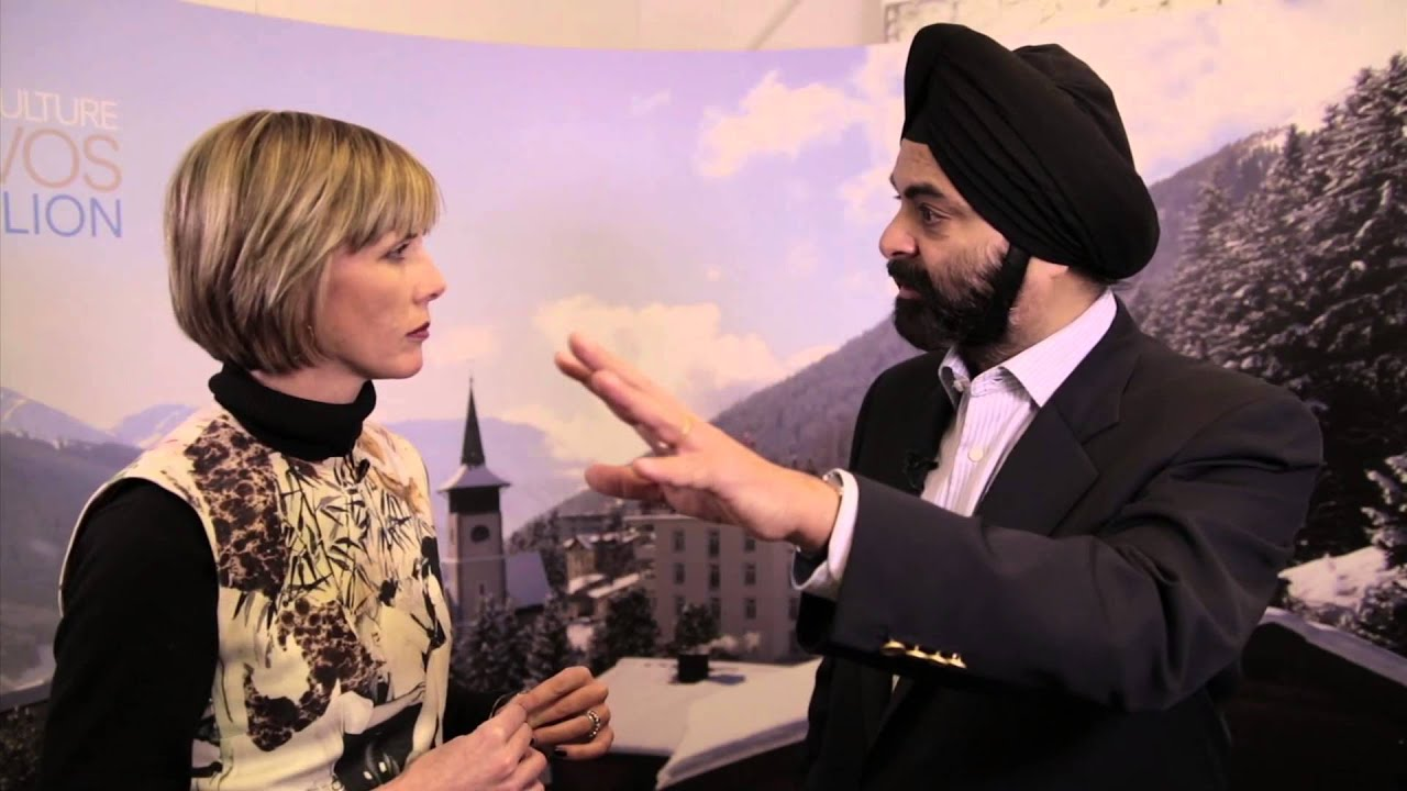 COUNTDOWN TO DAVOS: Top 10 Hub Culture Interviews of the last Decade in Davos. 2014: Mastercard President and CEO Ajay Singh Banga