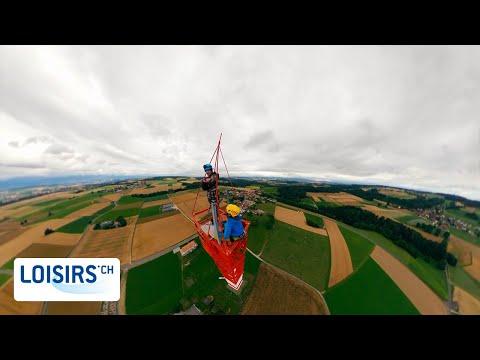 Ascension de l'antenne de Sottens - Une attraction unique en Suisse