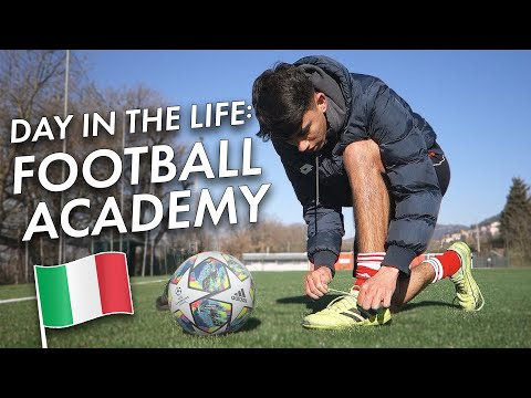 A Day In The Life Of An Italian Football/ Soccer Academy Player