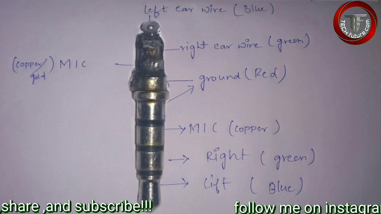 How To Repair Earphones/headphones With Microphone (3.5mm