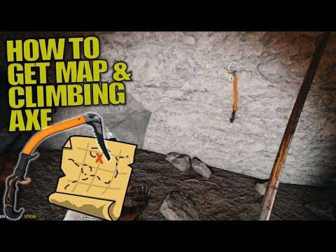 HOW TO GET MAP & CLIMBING AXE | The Forest | Let's Play Gameplay | S13E09