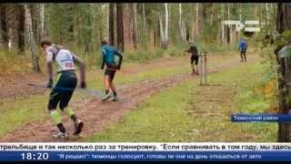 тренировка биатлонистов видео