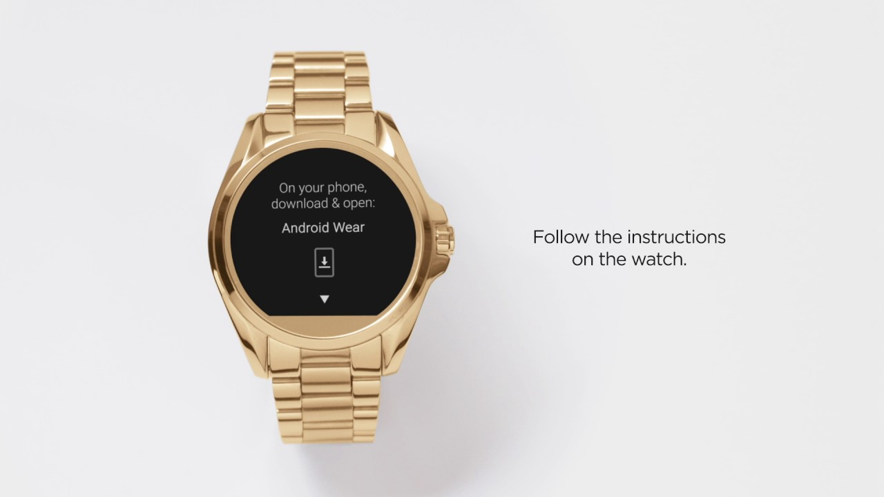 Michael Kors Access Instructions Mkoutlet