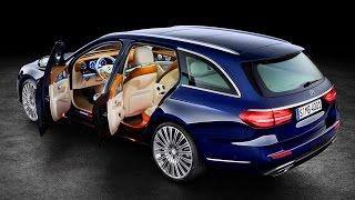 Mercedes E-class Wagon -  New Estate from Mercedes Benz #mercedeseclasswagon