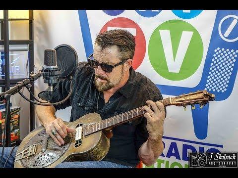 """Bring Your Fine Self Home"" Frank Bang Live on Blues Radio InternationalTV"