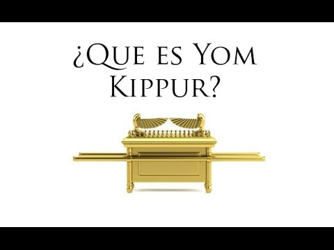 ¿Que es Yom Kippur?